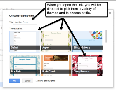 how to create a survey on google drive
